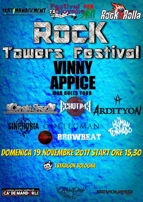 Live at Rock Towers Festival, Bologna