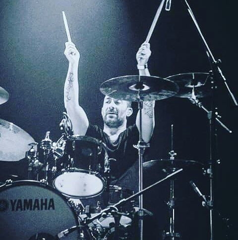 BAD AS drummer Marino De Bortoli