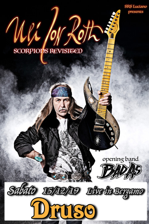 Save the date! Bad As opening for Uli Jon Roth