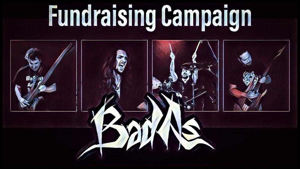 BAD AS new album fundraising campaign