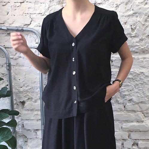 Camisa Alice Preta