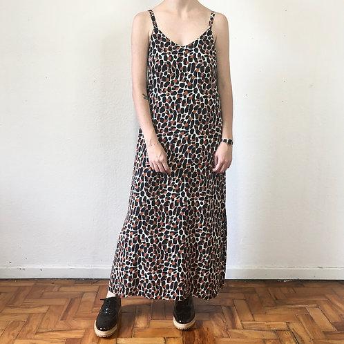 Vestido Slip Dress onça