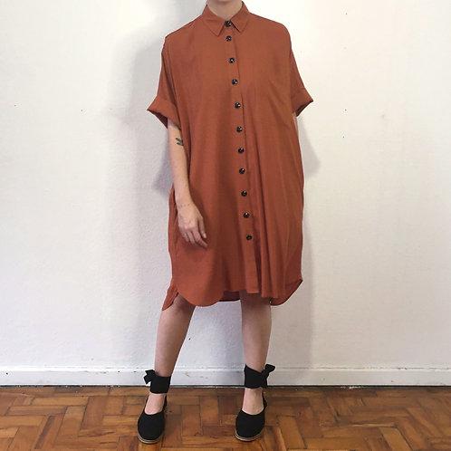 Vestido Chemise LilaTerracota