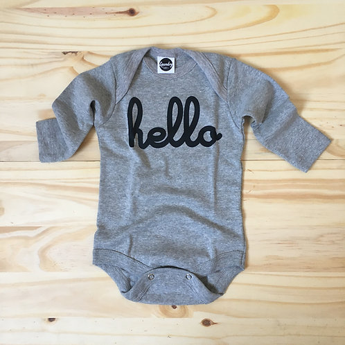 "Body m/l ""hello"" mescla"