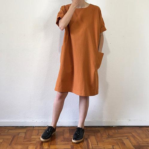 Vestido Clarice páprika