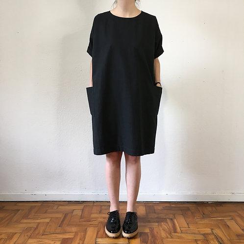Vestido Clarice preto