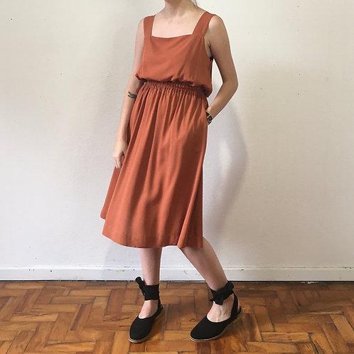 Vestido Ana Terracota