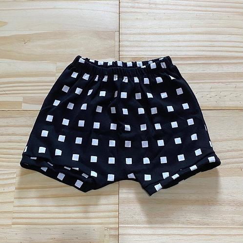 Shorts saruel 'quadrados'