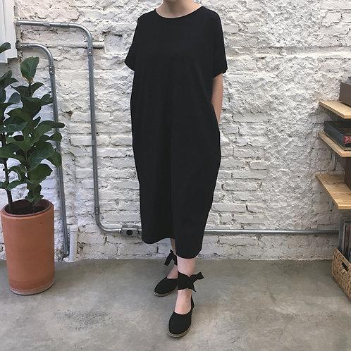 Vestido de malha Preto