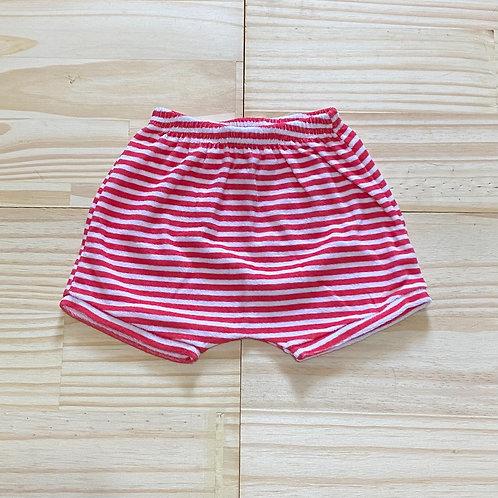Shorts atoalhado listrado