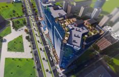 Bly Sky Tower & Holiday Inn, Batumi