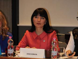 Анна Коваль избрана Президентом ФИАБСИ-Украина