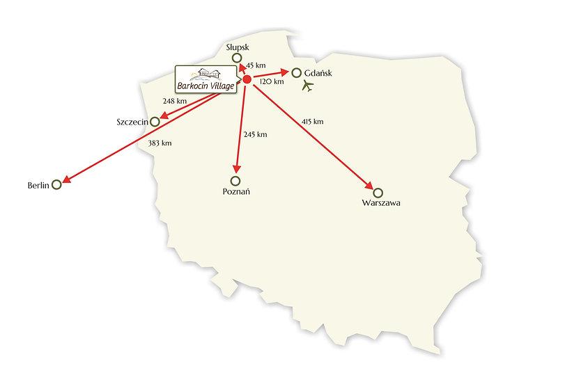Barkocin Village - location