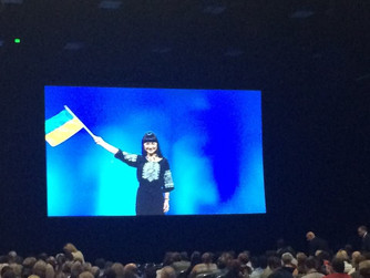 Анна Коваль представила Украину на церемонии выноса флага на конференции NAR в Сан-Диего