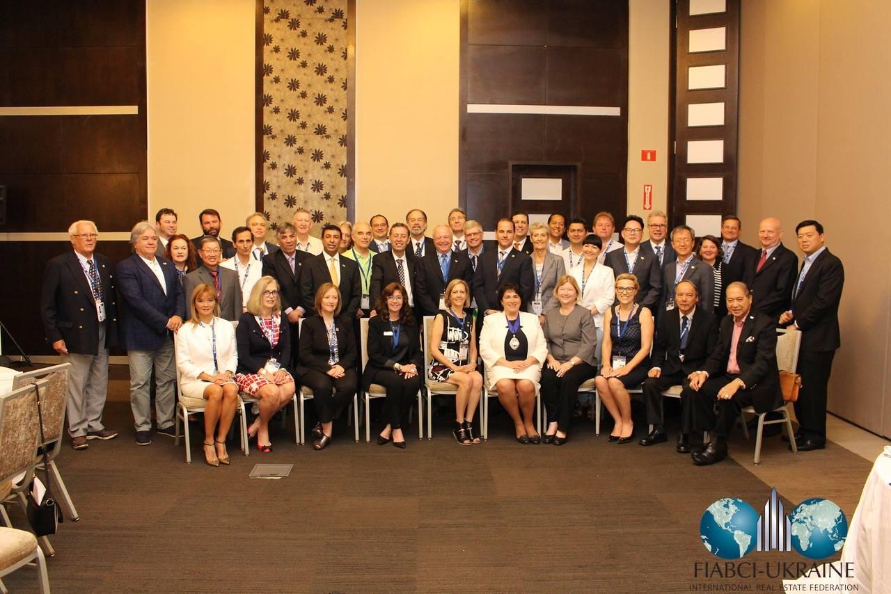 Члены FIABCI на конгрессе в Панаме