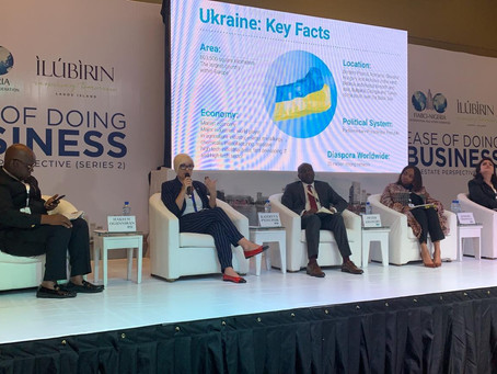 Presentation of Ukraine real estate market to Nigerian investors