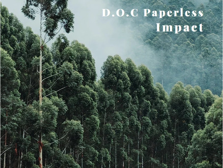 D.O.C, the way to increase profits going paperless