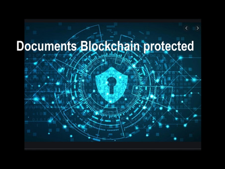 DOC Paperless uses Blockchain to protect your documents from forgery