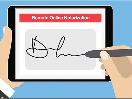 Will COVID19 accelerate the move to e-Notarization?