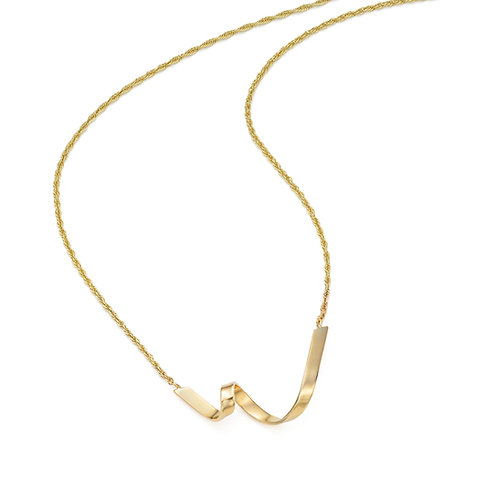 Jodie Hook- Luxe Loop V Necklace