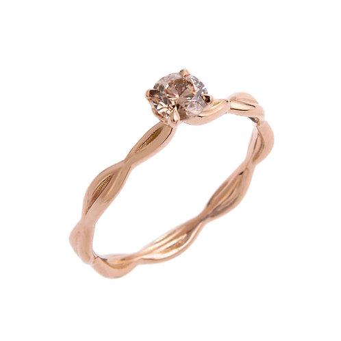 Katharine Daniel- Rosebud Diamond Solitaire Ring