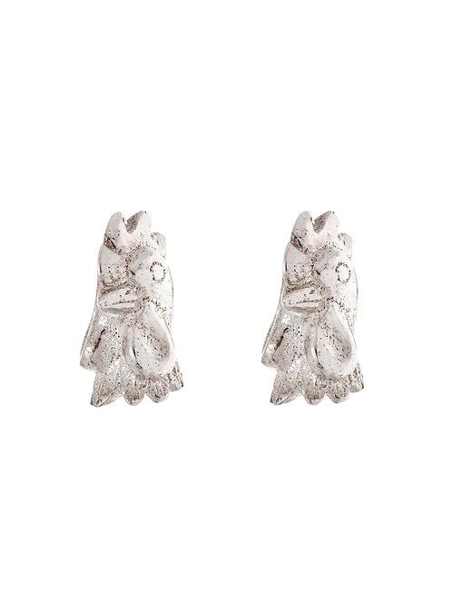 Simon Harrison Jewellery- Zodiac East Rooster Earrings