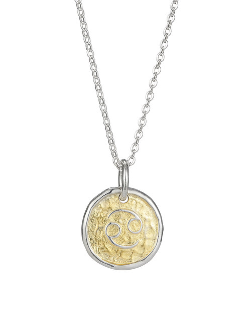Simon Harrison Jewellery- Zodiac West Cancer Pendant
