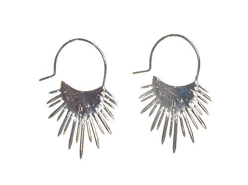 SLAB- Morano Spiked Halo Earrings