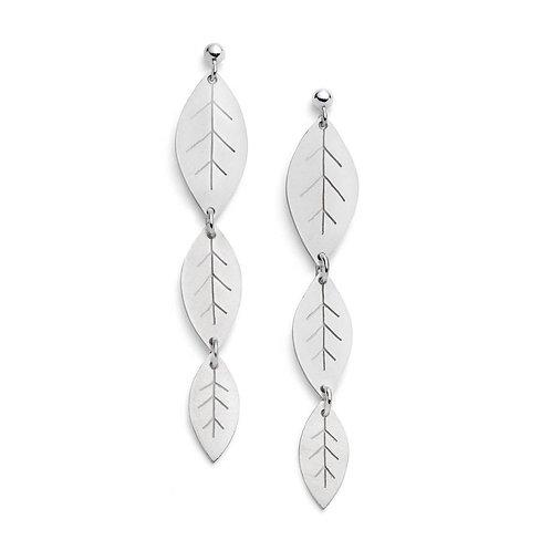 Diana Greenwood- Leafy Earrings