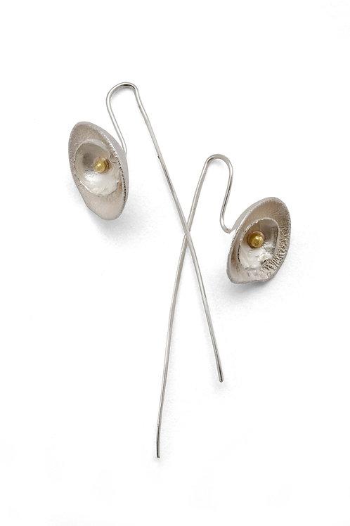 Shimara Carlow- Double Daisy Earrings
