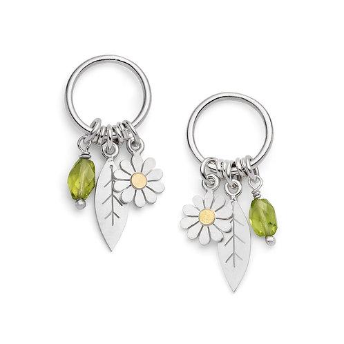 Diana Greenwood- Daisy Charm Earrings