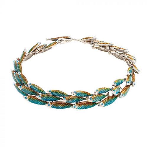Simon Harrison Jewellery- Electra Necklace Green
