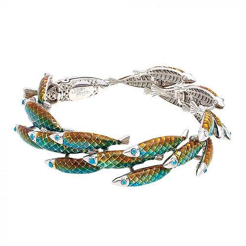 Simon Harrison Jewellery- Electra Bracelet Green