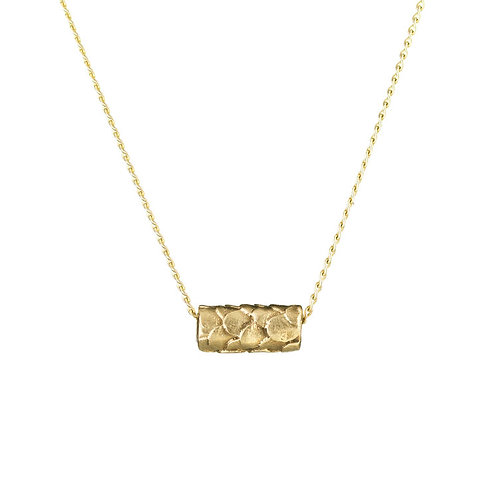 Alison Macleod- Catkin Contemplation Bead Necklace 9ct Yellow Gold
