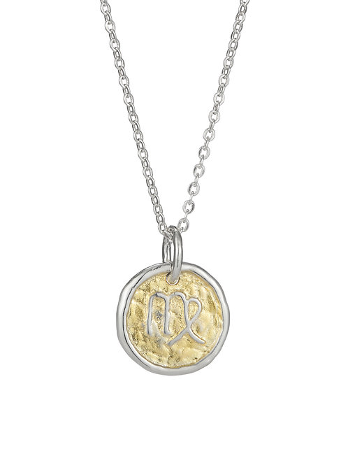 Simon Harrison Jewellery- Zodiac West Virgo Pendant