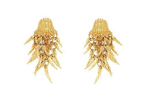 Simon Harrison Jewellery- Dionysus Bear Drop Earrings