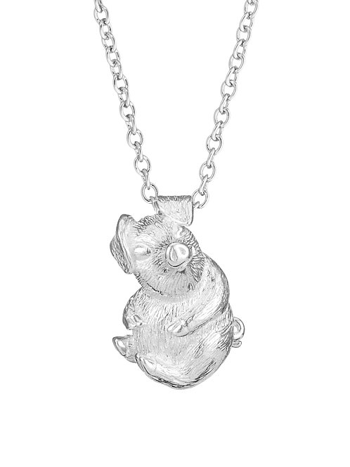 Simon Harrison Jewellery- Zodiac East Pig Pendant