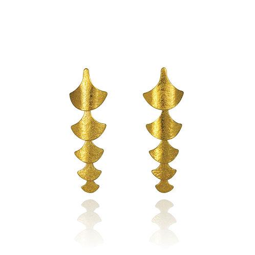 Cara Tonkin- Siren Scale Drop Earrings