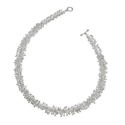 YEN-  Statement Silver Necklace