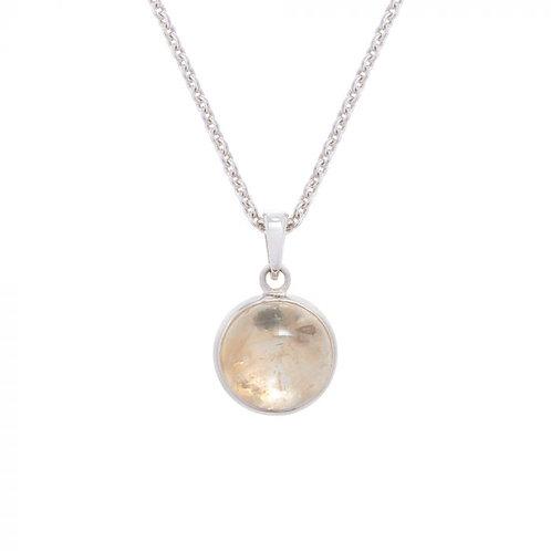 Simon Harrison Jewellery- Celtic Zodiac Necklace Oak Pendant