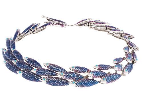 Simon Harrison Jewellery- Electra Necklace Blue