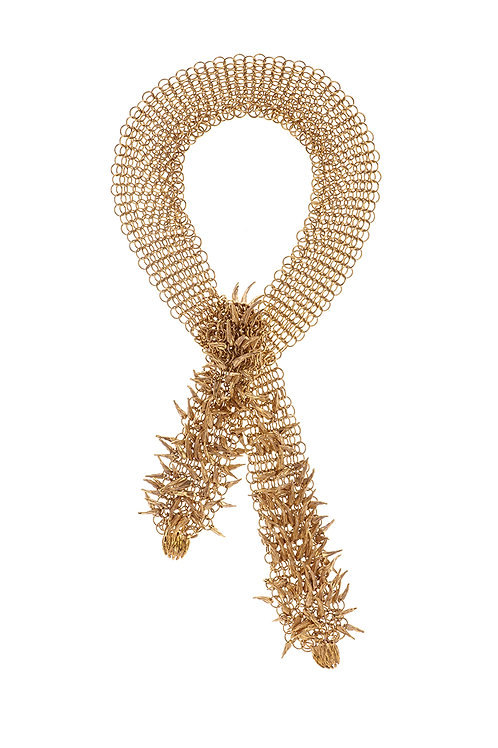 Simon Harrison Jewellery- Dionysus Bear Claw Chainmail Necklace
