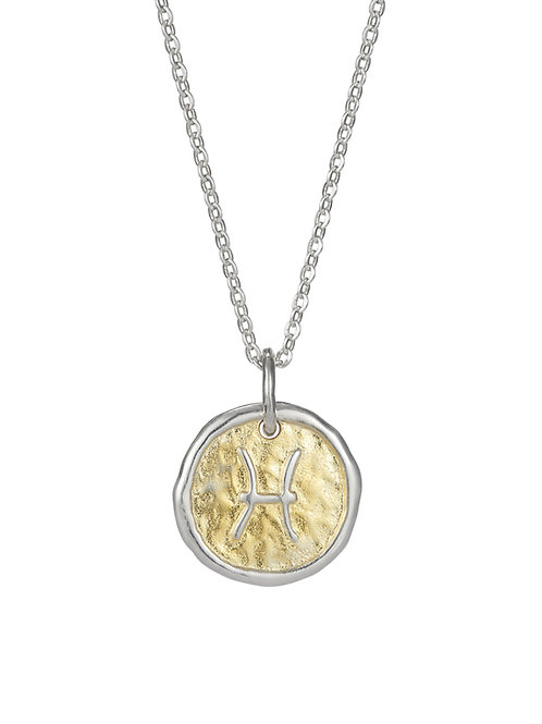 Simon Harrison Jewellery- Zodiac West Pisces Pendant