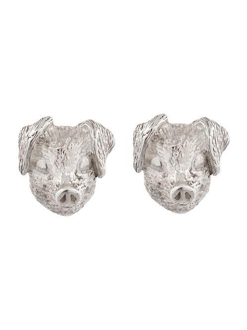 Simon Harrison Jewellery- Zodiac East Pig Earrings