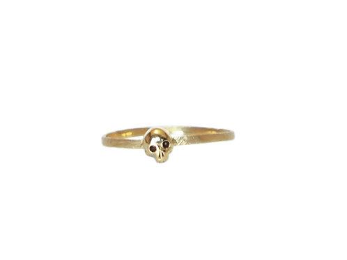SLAB- Blanche Delicate Skull Ring