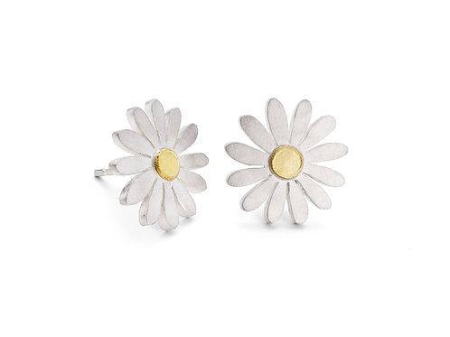 Diana Greenwood- Aster Flower Stud Earrings
