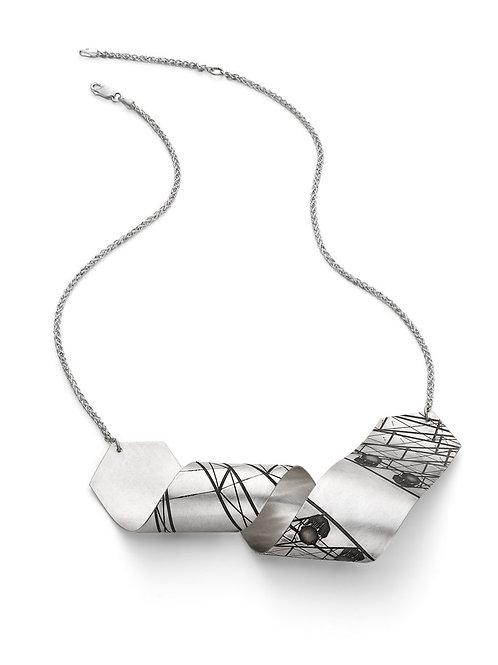 Jodie Hook- Striation 1 Loop V Large Necklace