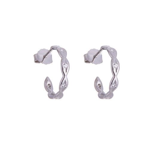 Katharine Daniel- Snowdrop Diamond Earrings