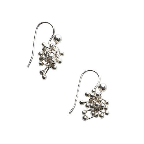 YEN- Silver Small Drop Earrings
