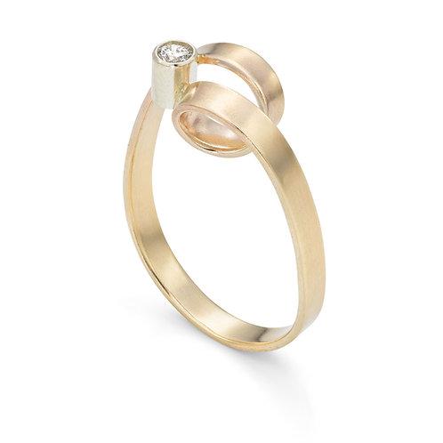 Jodie Hook- Luxe Solitaire Loop Ring